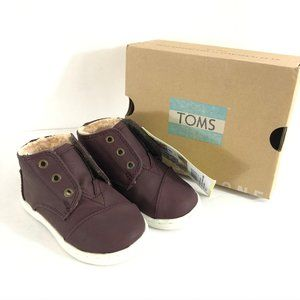 Toms Toddler Boys Girls Paseo Boots Faux Fur Lined